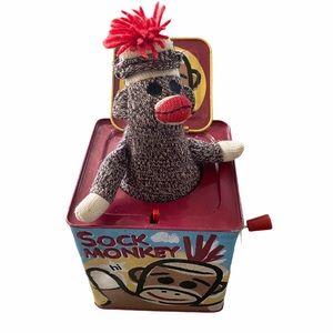 Sock Monkey Jack in a Box